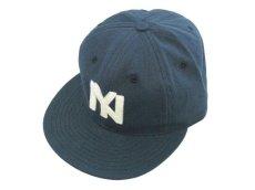 画像1: J.CREW X EBBETS FIELD FLANNELS BASEBALL CAP【BROOKLYN EAGLES】 (1)
