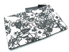 画像1: JIL SANDER GRAFFITI CLUTCH BAG【WHITE】 (1)