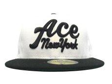 画像2: ACE HOTEL X NEW ERA CAP【WHITE/BLACK】 (2)