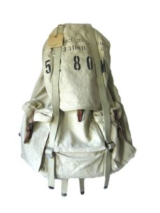 画像1: RRL CANVAS STENCIL BACKPACK (1)