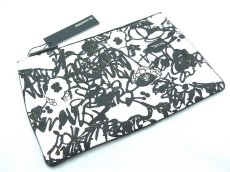 画像2: JIL SANDER GRAFFITI CLUTCH BAG【WHITE】 (2)
