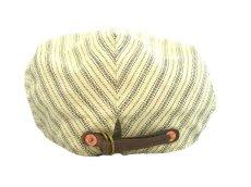 画像4: RRL STRIPE HUNTING CAP【OFF-WHITE】 (4)