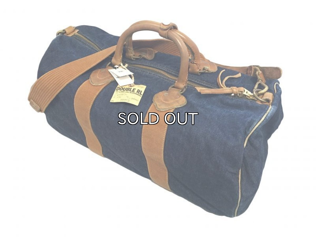 画像1: RRL DENIM DUFFEL BAG WINSTON (1)