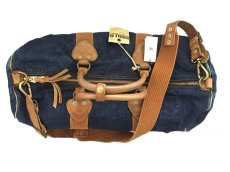 画像4: RRL DENIM DUFFEL BAG WINSTON (4)