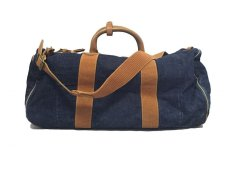 画像3: RRL DENIM DUFFEL BAG WINSTON (3)