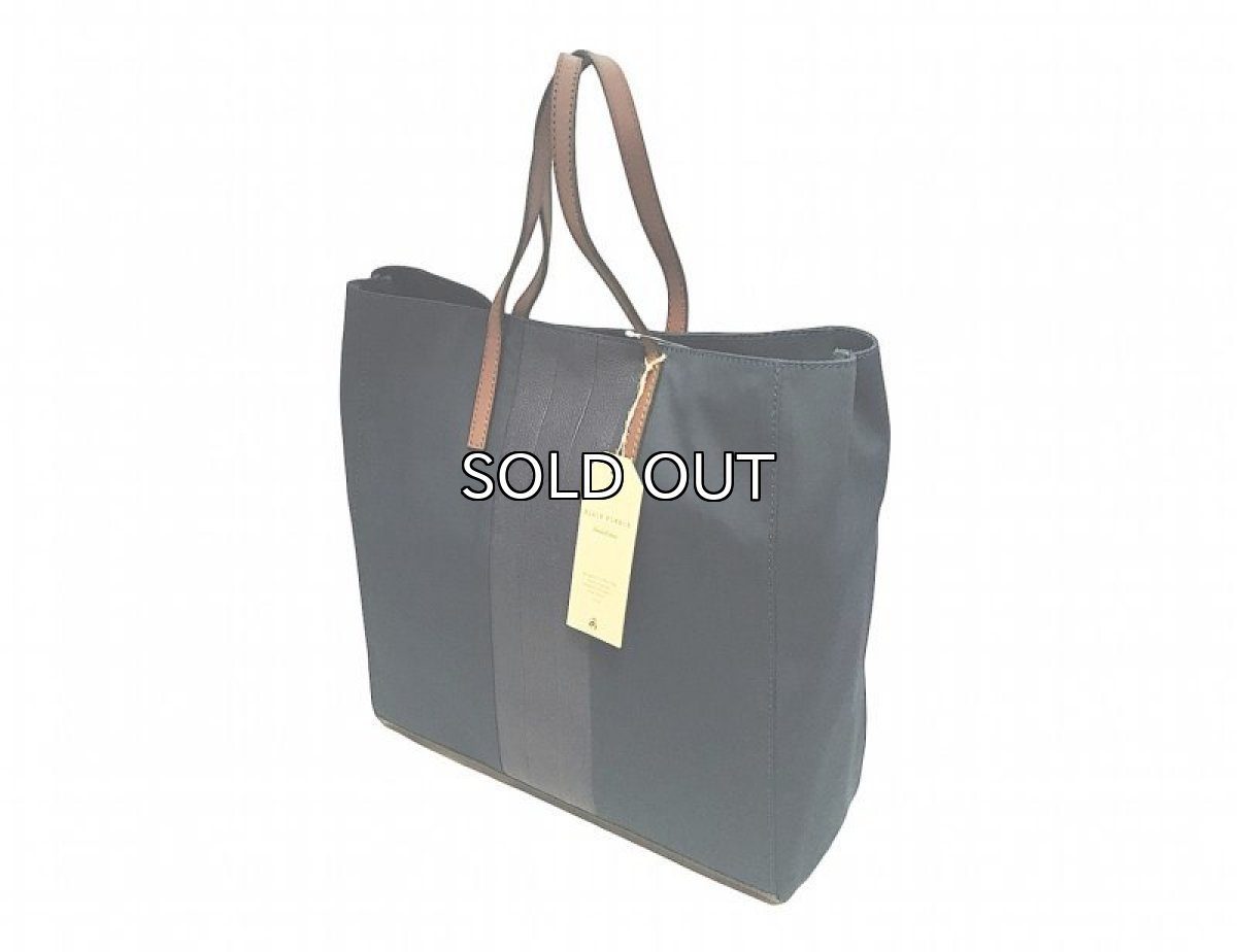 画像1: BLACK FLEECE MACKINTOSH CROSS TOTE BAG (1)