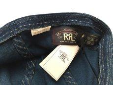 画像5: RRL SERVICE CAP【INDIGO STRIPE】 (5)