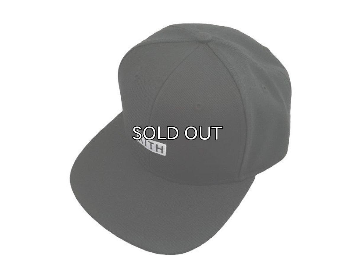 画像1: KITH NYC BOX LOGO SNAPBACK CAP (1)