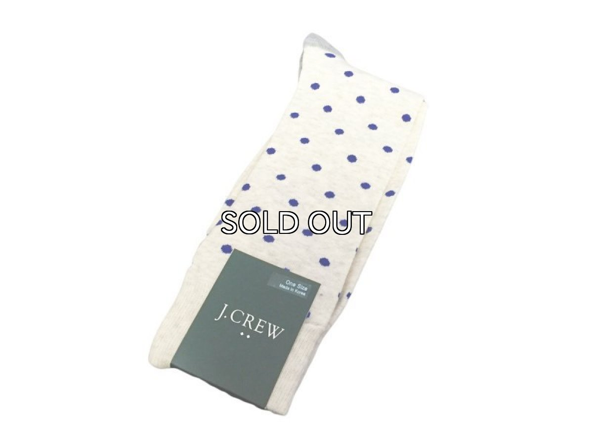 画像1: J.CREW MEDIUM DOT SOCKS (1)