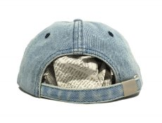 画像3: KITH NYC MINI BOX STRAPBACK CAP【WASH DENIM】 (3)