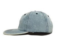 画像4: KITH NYC MINI BOX STRAPBACK CAP【WASH DENIM】 (4)