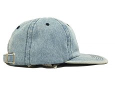 画像2: KITH NYC MINI BOX STRAPBACK CAP【WASH DENIM】 (2)