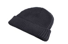 画像2: KITH NYC BOX LOGO BEANIE【NAVY】 (2)
