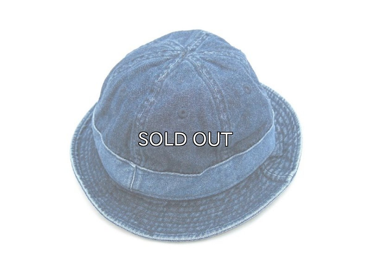 画像1: J.CREW DENIM METRO HAT (1)