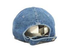 画像3: CALVIN KLEIN JEANS X UO CK LOGO WASH DENIM BASEBALL CAP (3)