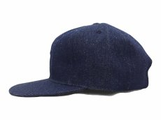 画像6: EBBETS FIELD FLANNELS X BREAKS CIGAR DENIM BASEBALL CAP (6)