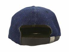 画像5: EBBETS FIELD FLANNELS X BREAKS CIGAR DENIM BASEBALL CAP (5)