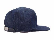 画像4: EBBETS FIELD FLANNELS X BREAKS CIGAR DENIM BASEBALL CAP (4)