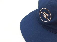 画像2: KITH NYC WAVE STRAPBACK CAP【NAVY/PINK】 (2)
