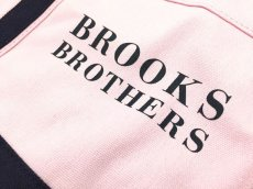 画像3: Brooks Brothers CANVAS TOTE BAG【PALE PINK/NAVY】 (3)