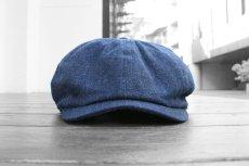 画像2: RRL DENIM NEWSBOY CAP (2)