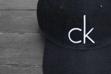 画像2: CALVIN KLEIN CK LOGO BASEBALL CAP (2)