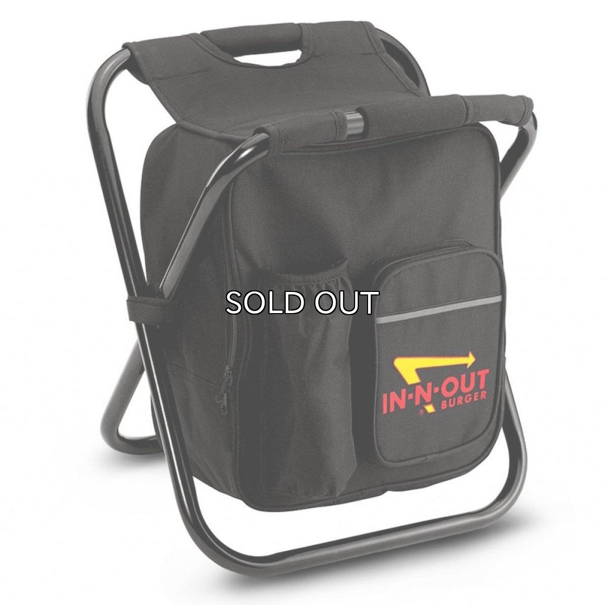 画像1: IN-N-OUT BURGER COOLER BAG CHAIR (1)