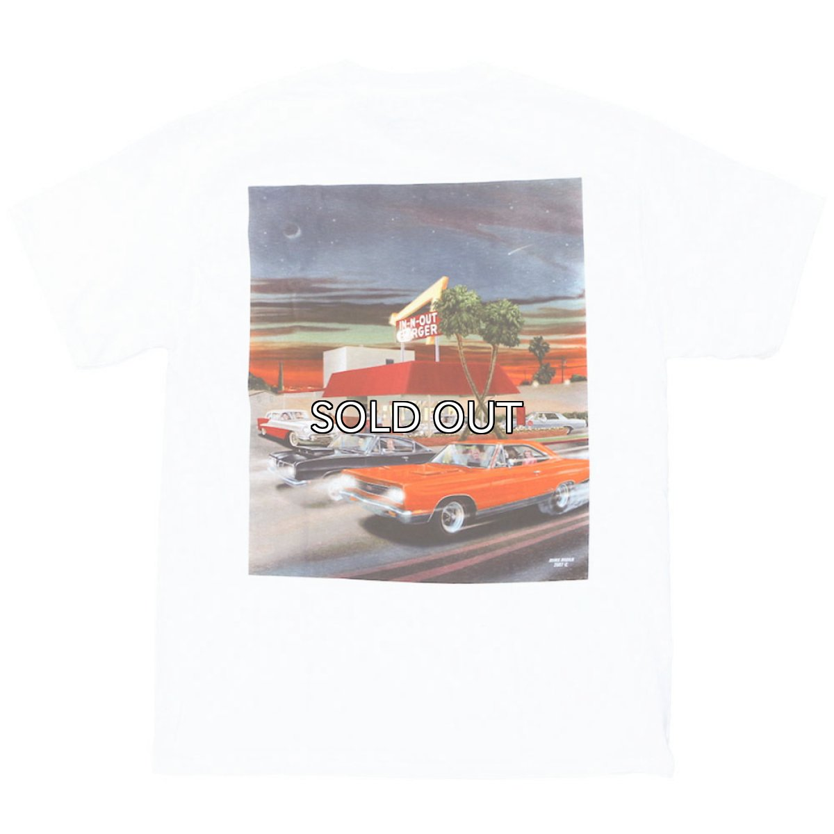 画像1: IN-N-OUT BURGER 2007 LOOKING BACK S/S TEE (1)