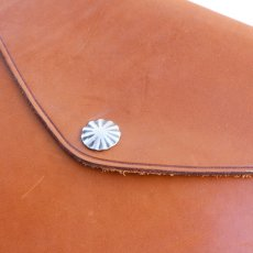 画像2: RRL CONCHA LEATHER CLUTCH BAG (2)