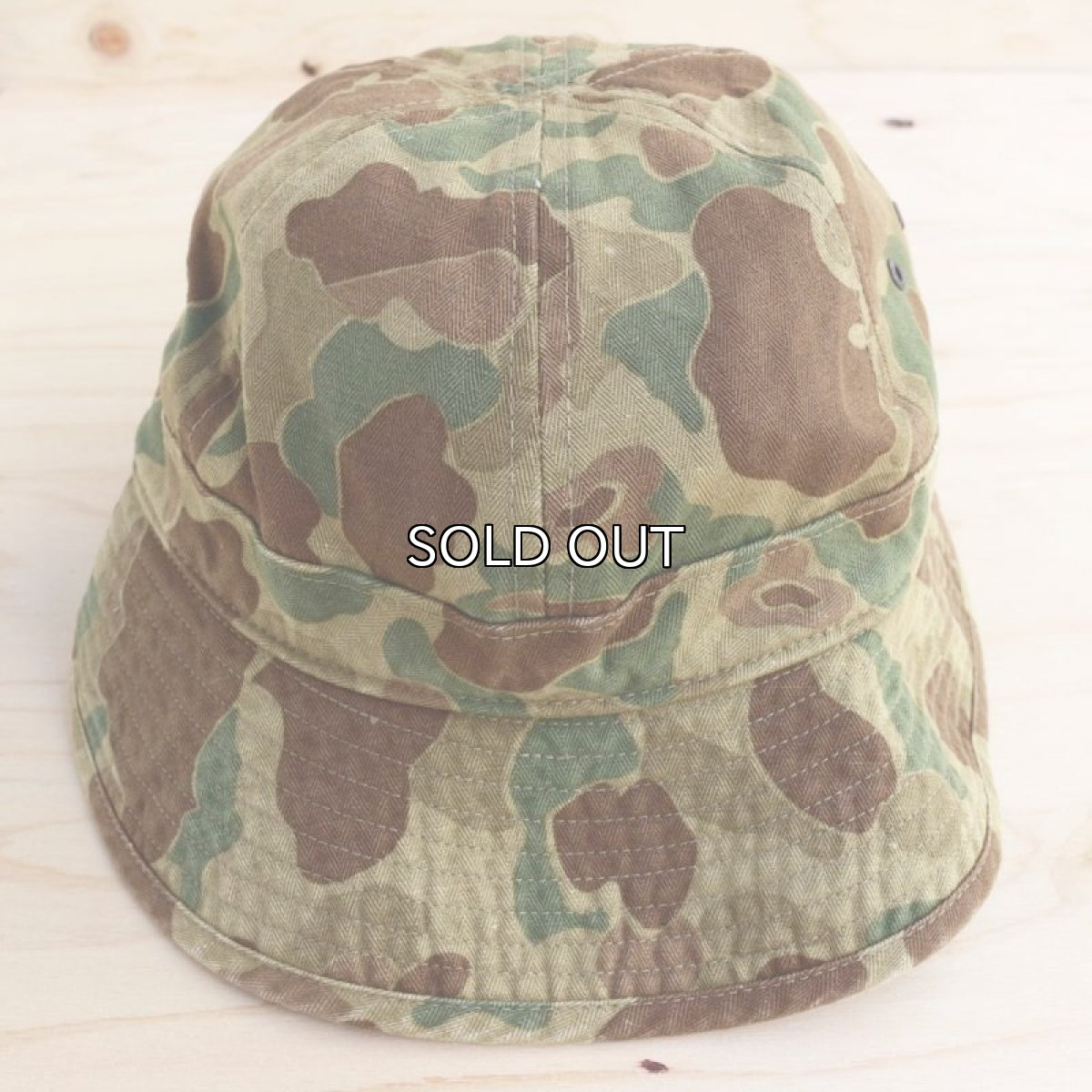 画像1: RRL HERRINGBONE TWILL DAISY MAE HAT (1)