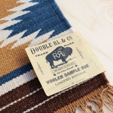 "画像2: RRL HANDWOVEN MINI RUG ""LIMITED EDITION"" (2)"