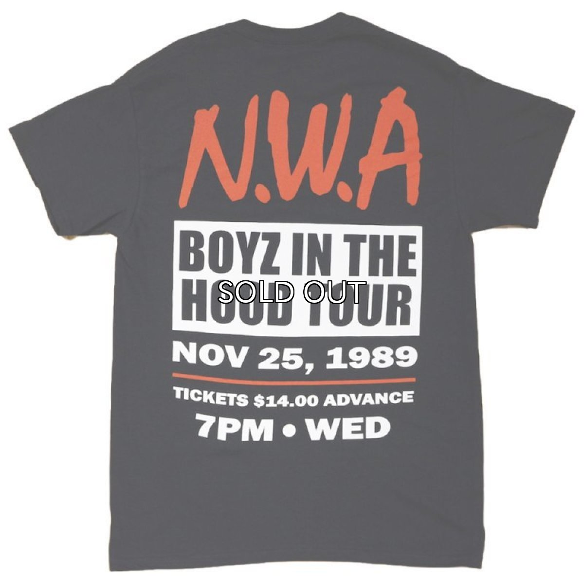 画像1: N.W.A BOYZ IN THE HOOD TOUR S/S TEE (1)