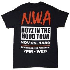 画像1: N.W.A BOYZ IN THE HOOD TOUR S/S TEE (1)