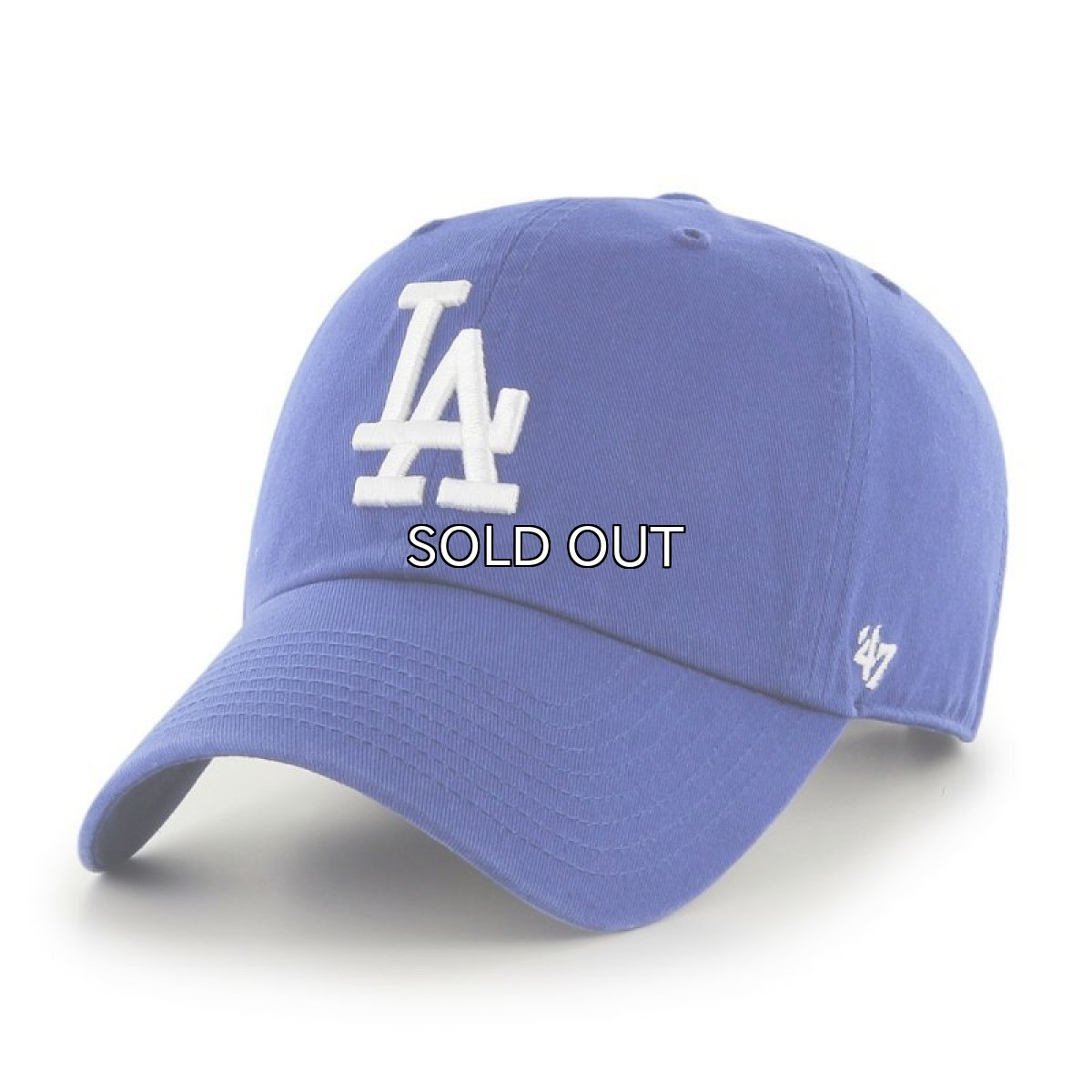 画像1: '47 BRAND LOS ANGELES DODGERS CLEAN UP CAP (1)