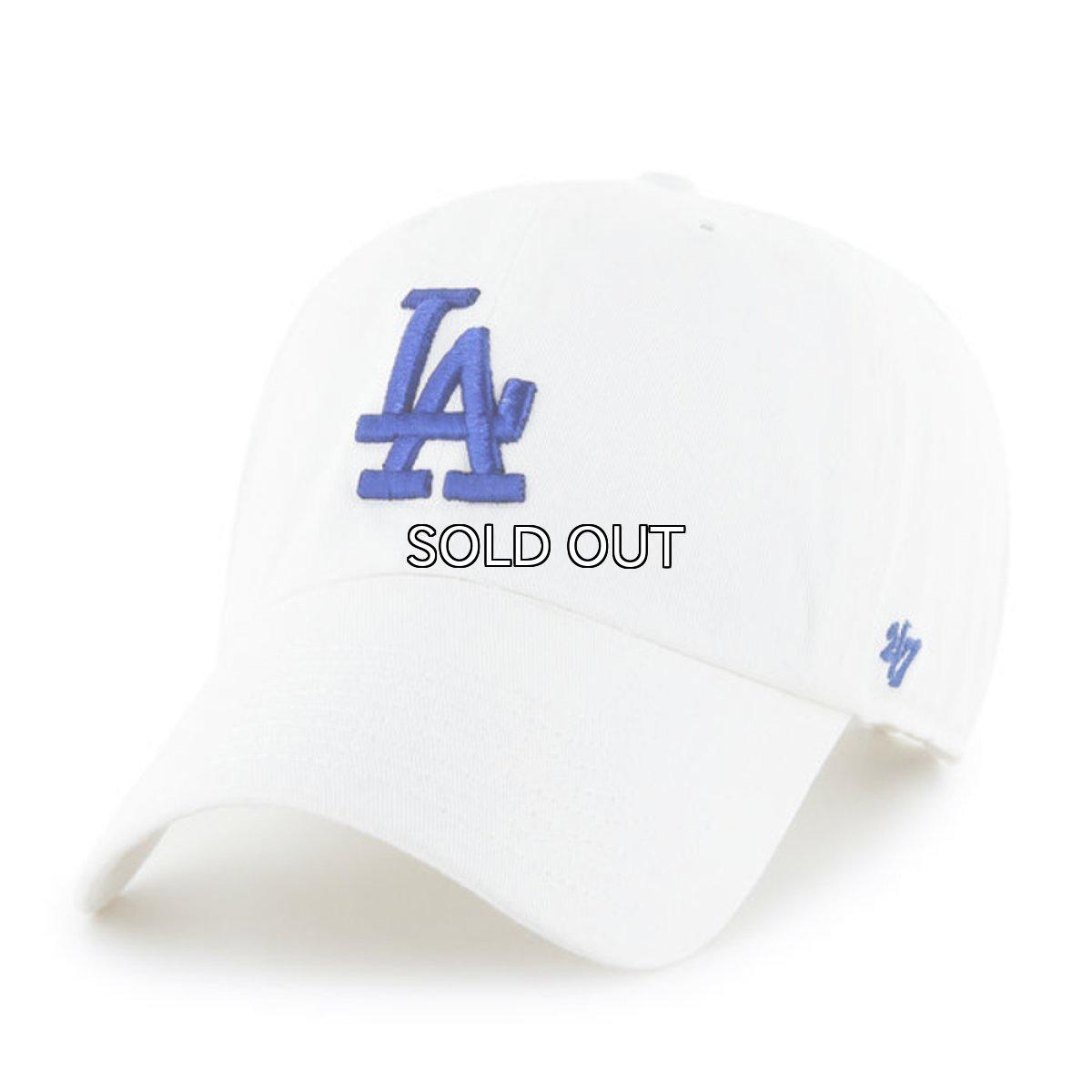 画像1: '47 BRAND LOS ANGELES DODGERS CLEAN UP CAP (1)