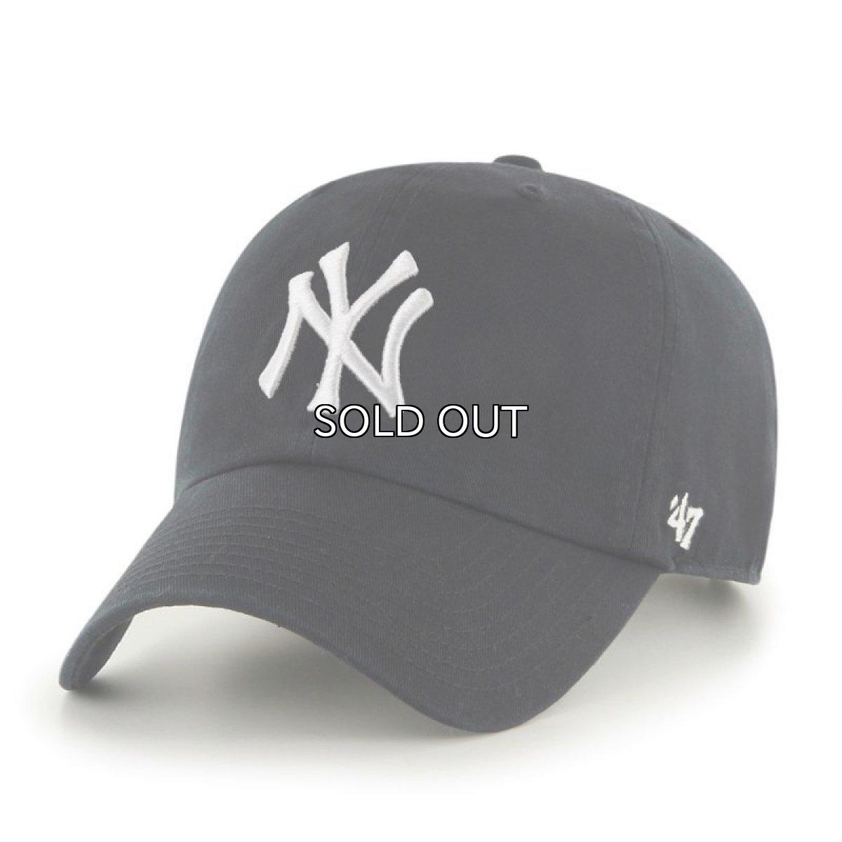 画像1: '47 BRAND NEW YORK YANKEES CLEAN UP CAP (1)