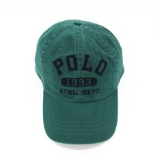 画像1: POLO RALPH LAUREN COLLEGE LOGO BASEBALL CAP (1)