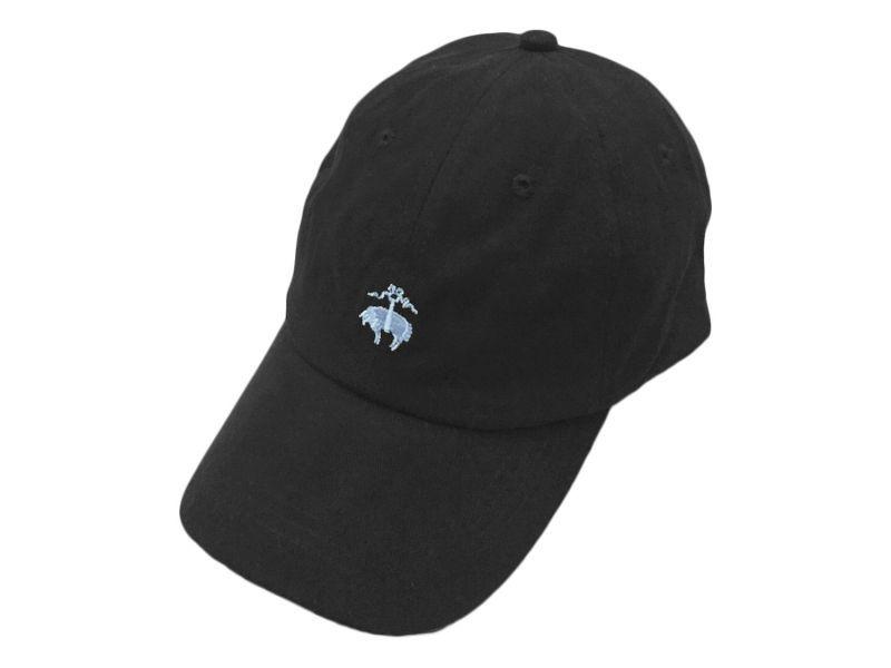 Brooks Brothers GOLDEN FLEECE LOGO BASEBALL CAP BLACK   584fd707e48