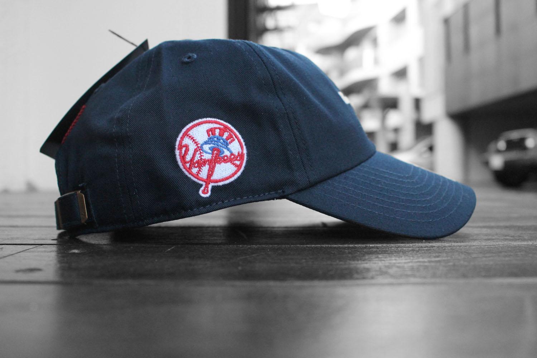 27712e696c39e  47 BRAND X FEW NEW YORK YANKEES CLEAN UP CAP  NAVY
