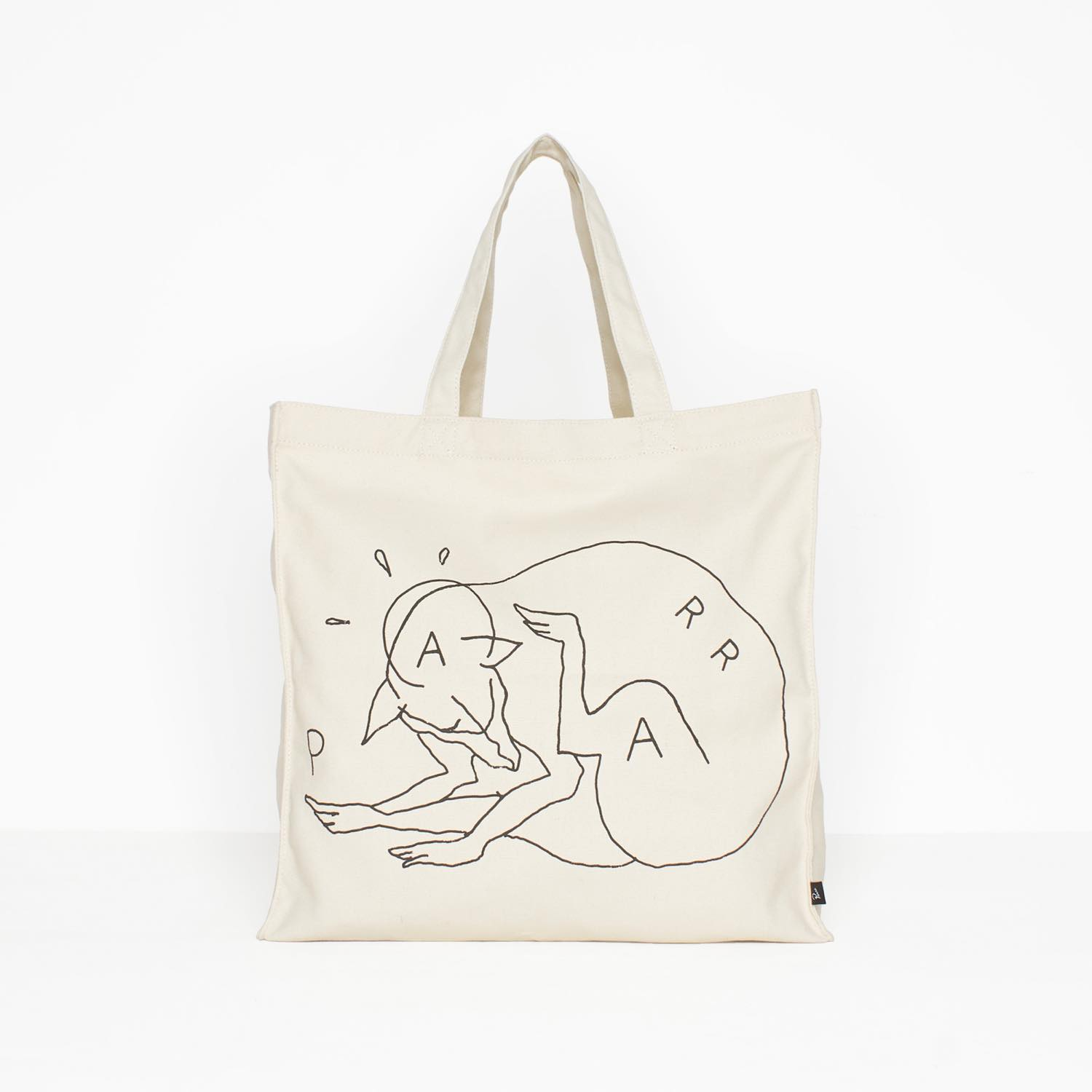 画像1: BY PARRA TOTE BAG SCRATCH DOG (1)