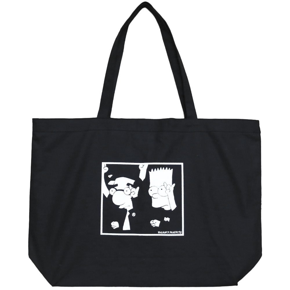 画像1: VACANCY PROJECT PUNK DANCING FOR SELF DEFENSE TOTE BAG (1)