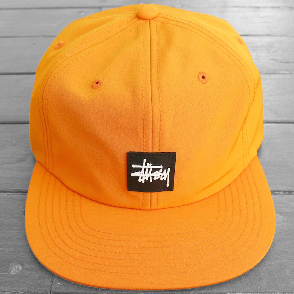画像1: STUSSY STOCK LOGO STRAPBACK CAP (1)