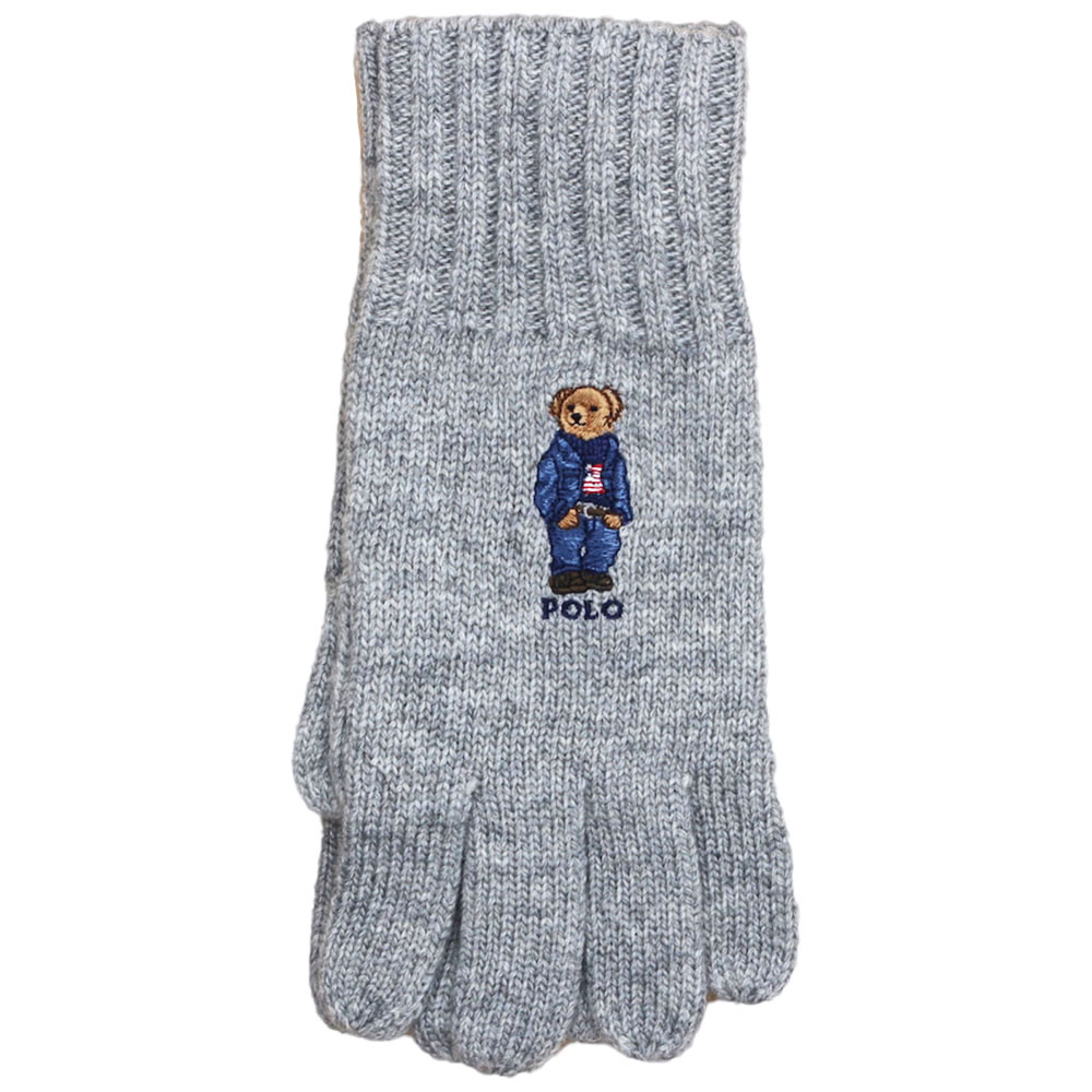 画像1: POLO RALPH LAUREN BEAR GLOVE (1)