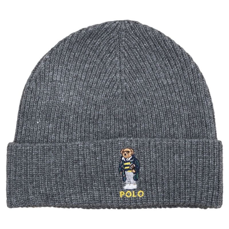 画像1: POLO RALPH LAUREN BEAR BEANIE (1)