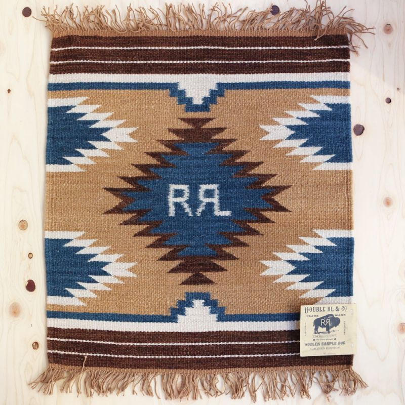 "画像1: RRL HANDWOVEN MINI RUG ""LIMITED EDITION"" (1)"