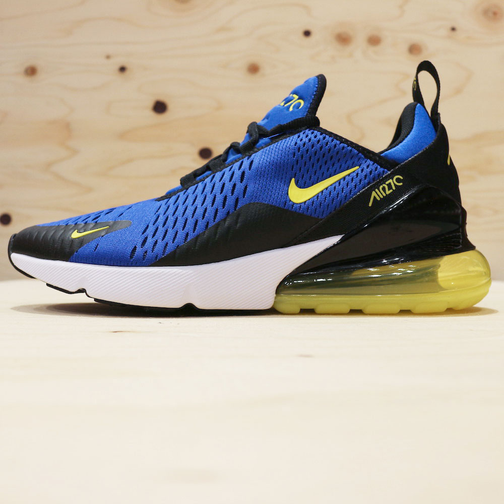 Nike Air Max 270 (Game RoyalYellowBlack) BV2517 400