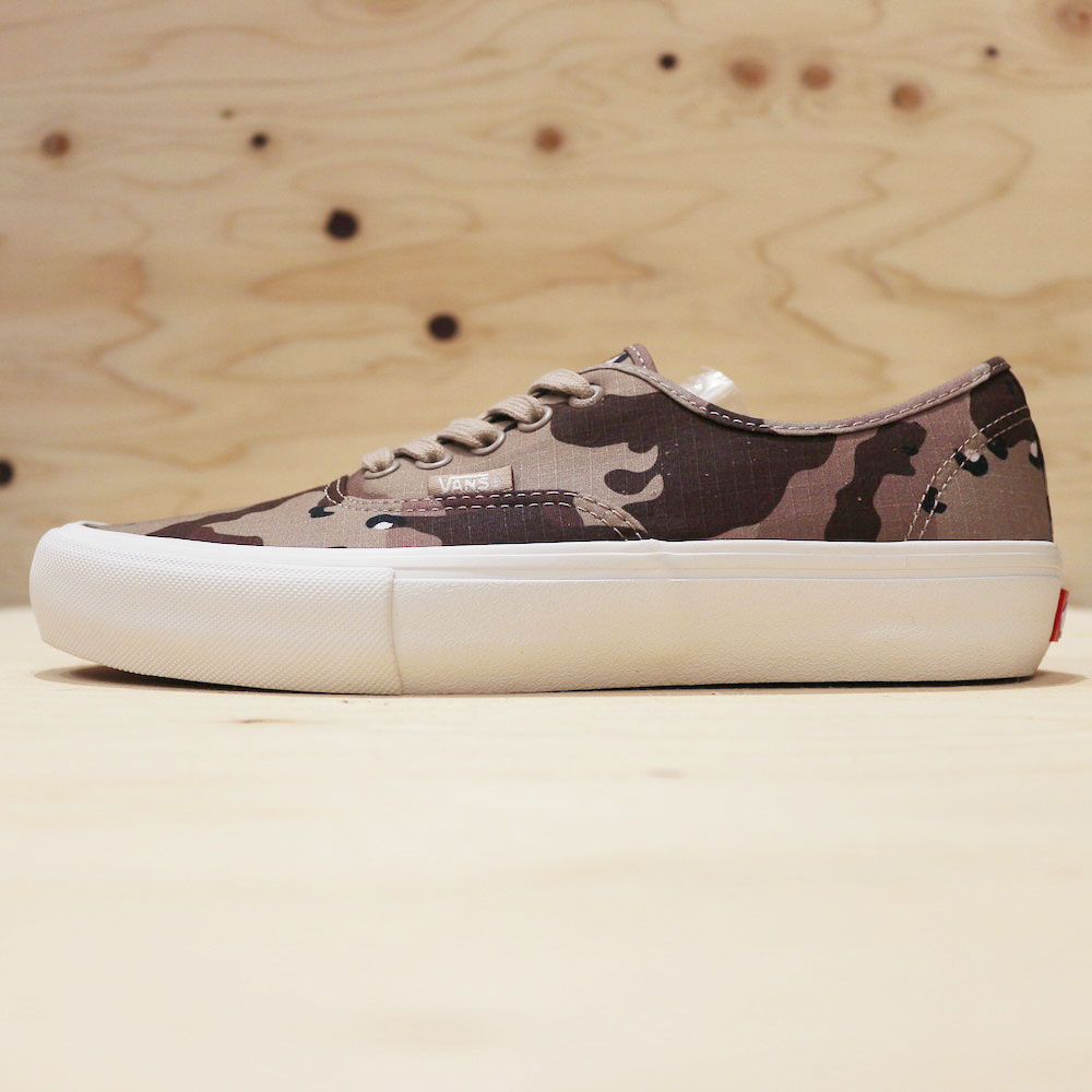 "画像1: VANS AUTHENTIC PRO ""DESERT CAMO"" (1)"