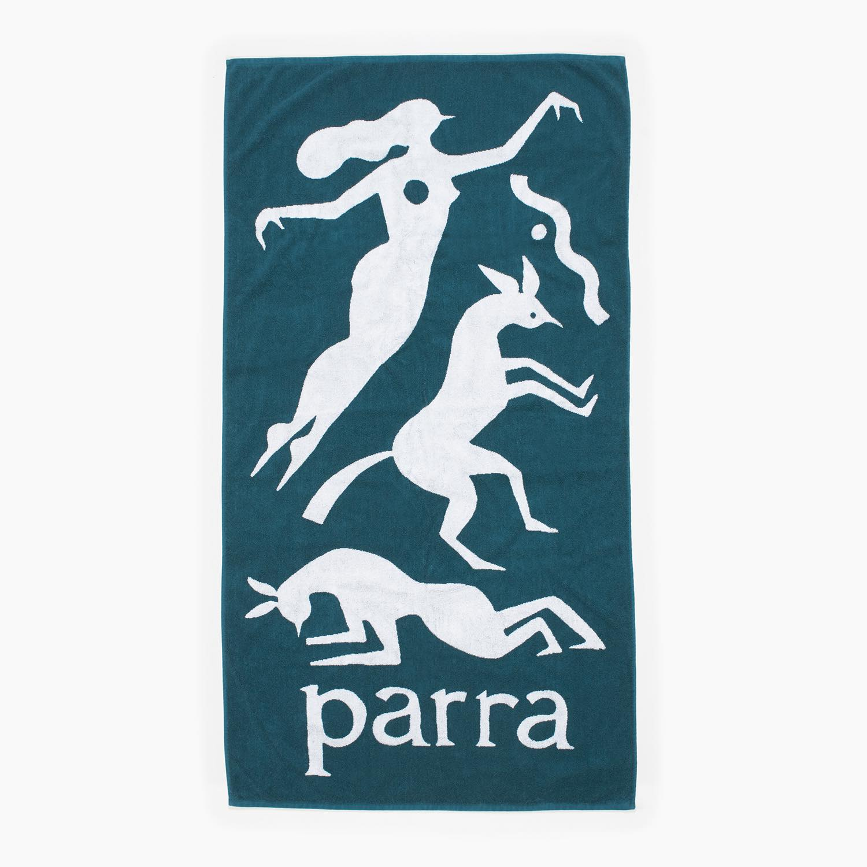 画像1: BY PARRA BEACH TOWEL WORKOUT WOMAN HORSE (1)