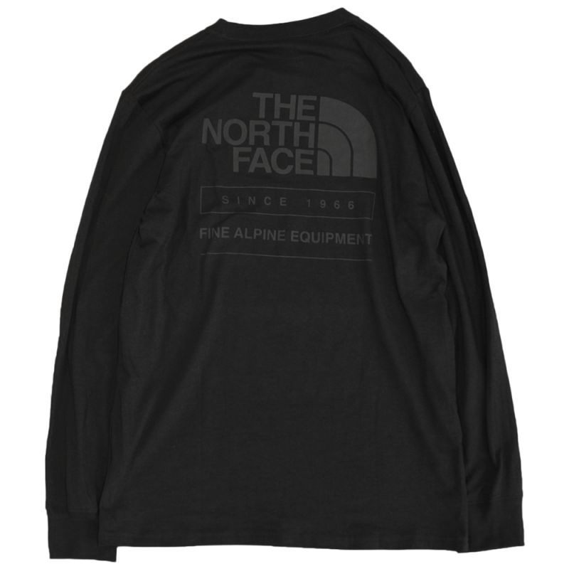画像1: THE NORTH FACE THROWBACK L/S TEE (1)