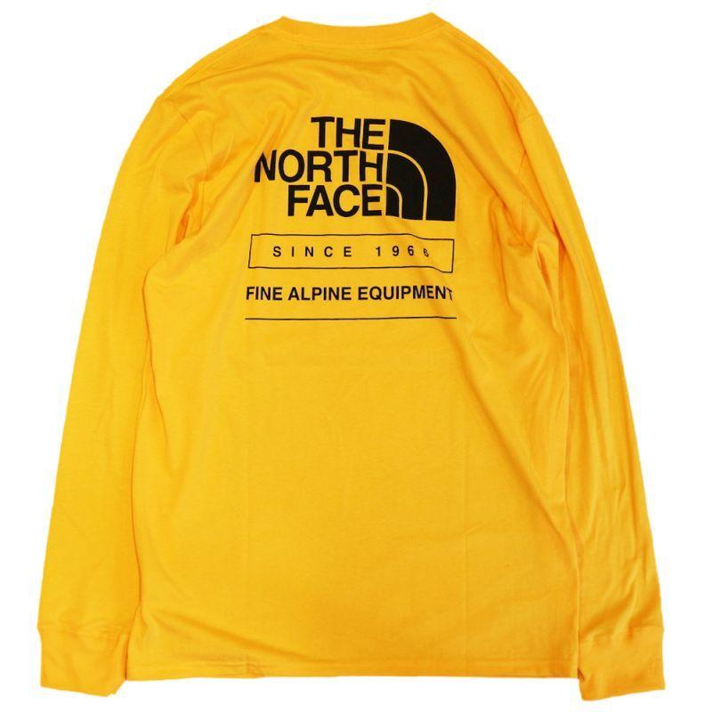 画像1: THE NORTH FACE THROWBACK L/S TEE (1)